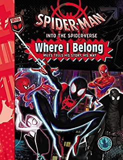 c3b926f5 Amazon.com: Spider-Man: Into the Spider-Verse: The Junior Novel ...