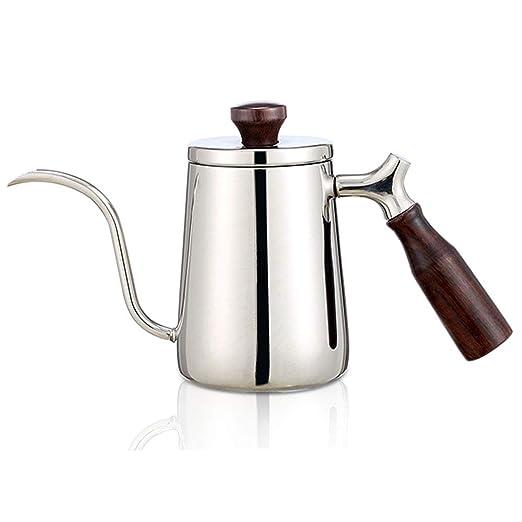 Hervidor de café sobre la cafetera, Boquilla de cuello de cisne de ...