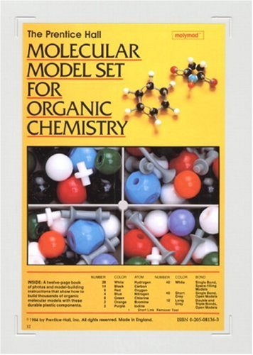 - Prentice Hall Molecular Model Set For Organic Chemistry