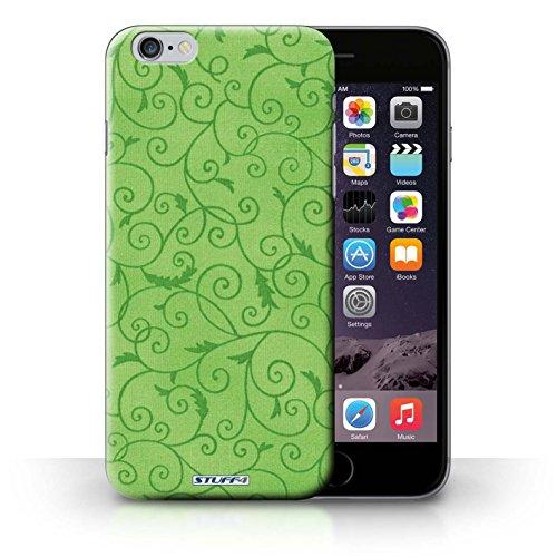 iCHOOSE Print Motif Coque de protection Case / Plastique manchon de telephone Coque pour iPhone 6+/Plus 5.5 / Collection Motif de la vigne / Vert