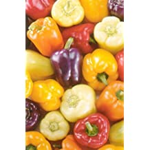 9GreenBoxs: Pepper Sweet Bell Pepper 50 Seeds-Red,Gold,Purple,Orange,White
