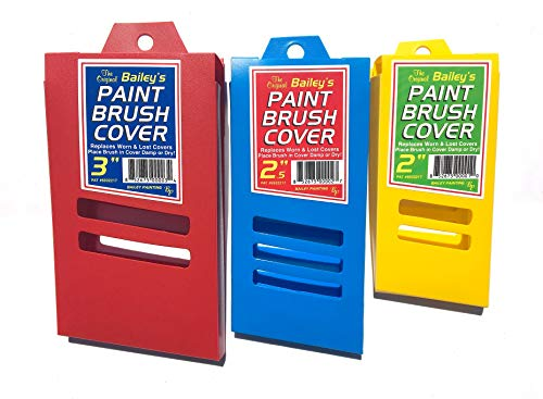 Paint Brush Covers (3 Covers, Assorted Three Pack)]()