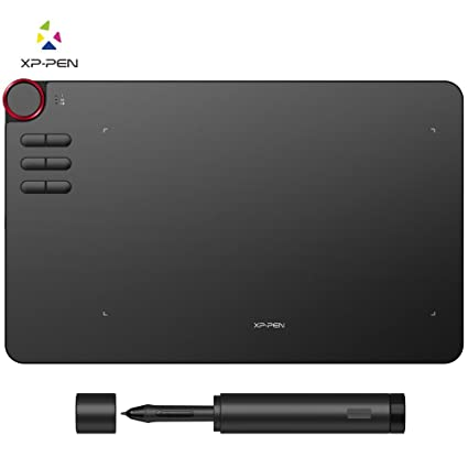 "XP Pen Deco03 Award Winning Wireless Graphics Drawing Tablet Pen Tablet  (10""x6"" Size, 8192 Levels of Pressure Sensitivity, Battery Free Stylus, 8"