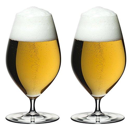 Riedel Veritas Beer Glasses (Set of 2), Clear -
