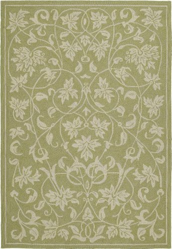 - Kaleen Home Porch Area Rug in Celery - PRESLEY-24 (Size: 5'x7'6)
