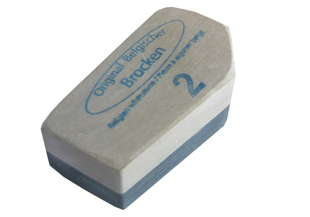 Remos sharpening stone Belgian chunk No. 2 app. 5 x 4 cm Others