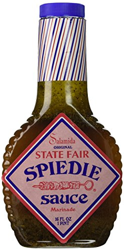 Salamida Original State Fair Spiedie Sauce and Marinade, 16 Ounce