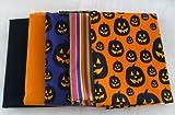 Halloween Print Fabric Bundle - 5 Yards Total