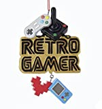 "Kurt Adler ""RETRO GAMER"" VIDEO GAME ORNAMENT"