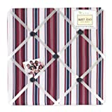 Sweet Jojo Designs Nautical Nights Fabric Memory/Memo Photo Bulletin Board