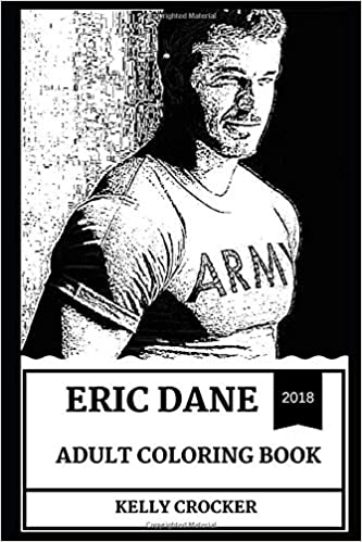 Eric Dane Adult Coloring Book: Dr. Mark Sloan from Grey\'s Anatomy ...