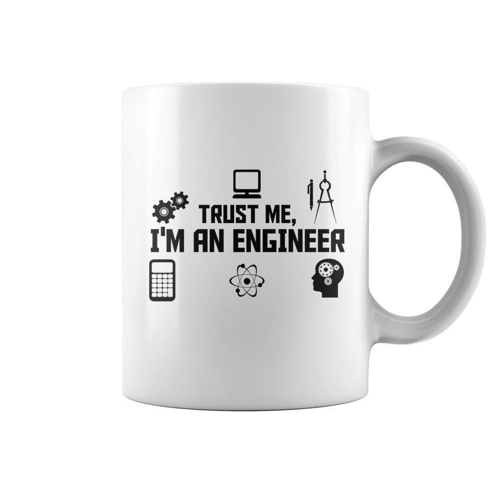 ENGINEER COFFEE MUG, GIFT FOR BROTHER'S BIRTHDAY, GIFT FOR SON'S ANNIVERSARY, GIFT FROM PARENTS