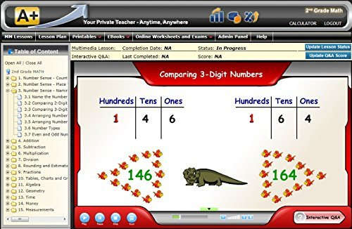Amazon.com: 2nd Grade Math Online Teaching/Tutoring Software ...
