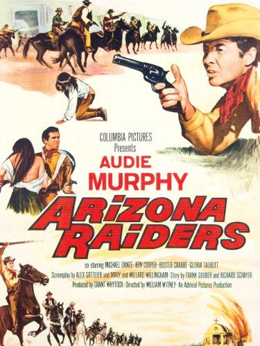 Amazon Com Arizona Raiders Audie Murphy Buster Crabbe