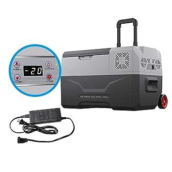 Compresor portátil Frigorífico Congelador 12V Viaje en automóvil ...