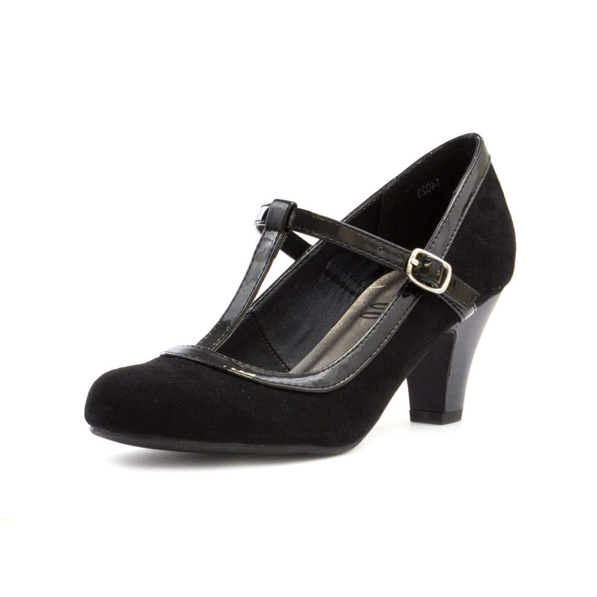 Clarks Chorus Pitch Ladies T Bar Shoe