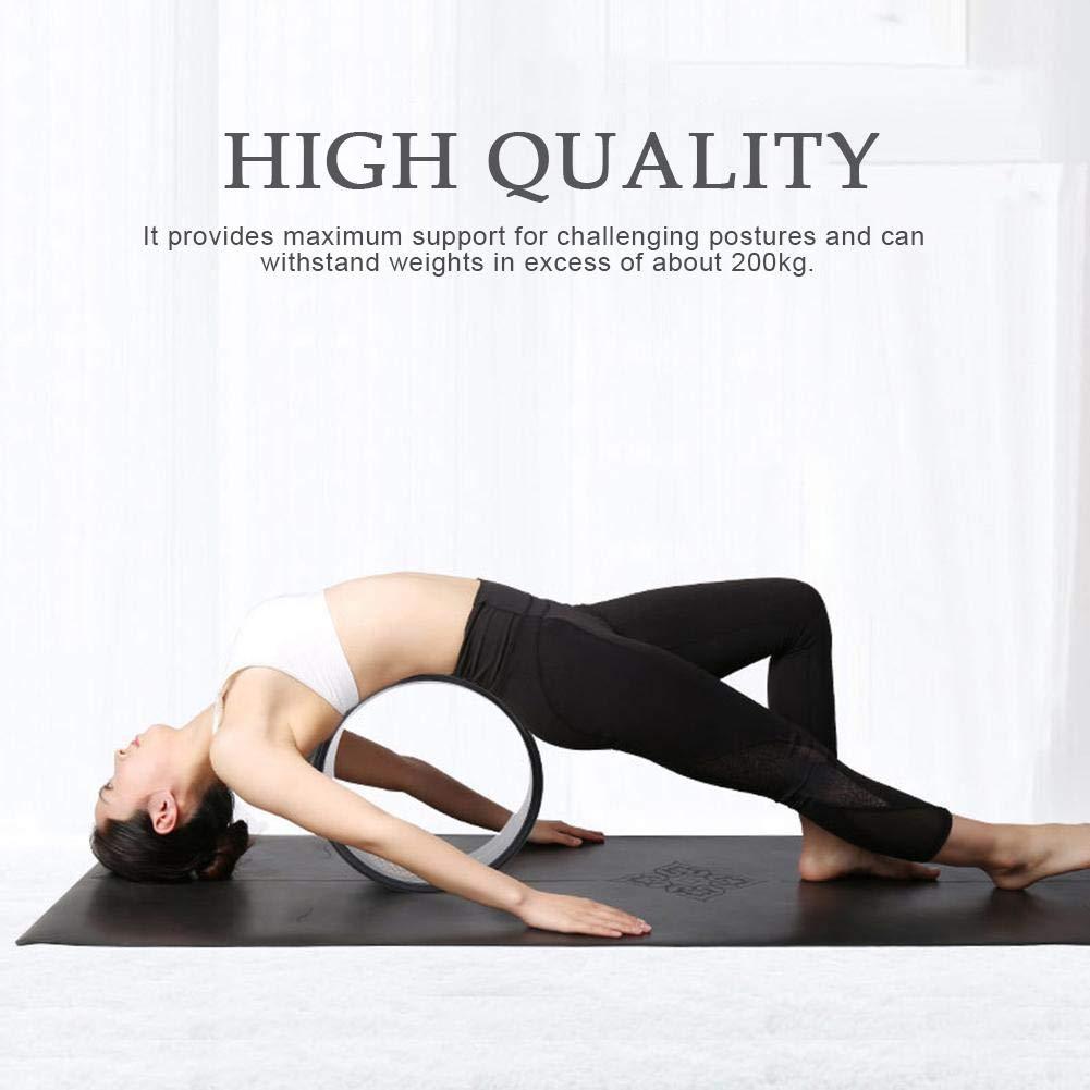 Adminitto88 Yoga Wheel Fitness Wheel Hollow - Rueda de Yoga ...