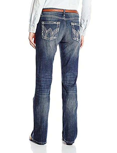 Wrangler Women/'s Shiloh Ultimate Riding With Heavy Embroidery Jean WRS40GW