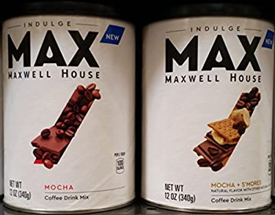 Maxwell House Max Coffee Drink Mix Variety Pack 12 oz (Pack of 2)
