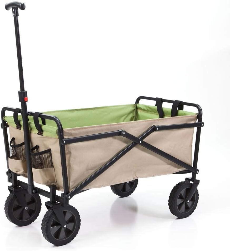Seina Manual Folding Steel Wagon