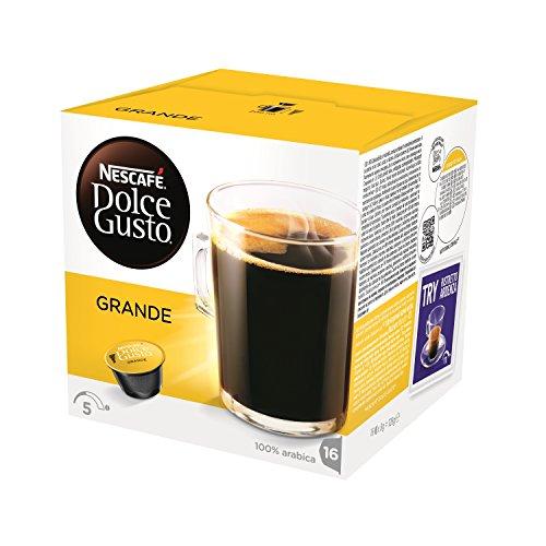 NESCAFÉ Dolce Gusto CAFÉ  GRANDE (16 cápsulas/16 Tazas)