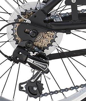 Legnano ciclo 800 Folding, Bicicleta hombre, Hombre, Ciclo 800 Folding, negro, 20: Amazon.es: Deportes y aire libre