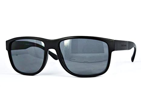 05415bea094a Image Unavailable. Image not available for. Colour  Giorgio Armani Timeless  Elegance Square Sunglasses in Matte Black Polarised AR8057 ...