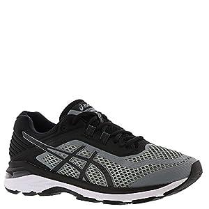 ASICS Men's GT-2000 6 Running Shoes Stone Grey/Black/White (13)