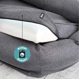 BarkBox Memory Foam Dog Bed | Plush Orthopedic