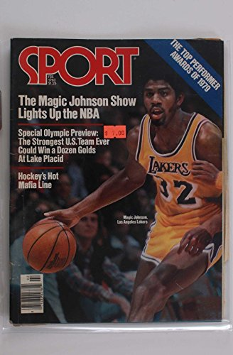 SPORT MAGAZINE MAGIC JOHNSON OLYMPIC PREVIEW FEB 1980 BASKETBALL HOCKEY RARE - Magic Johnson Olympics