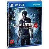 Uncharted 4: A Thiefs End - 1ª Edição - PlayStation 4
