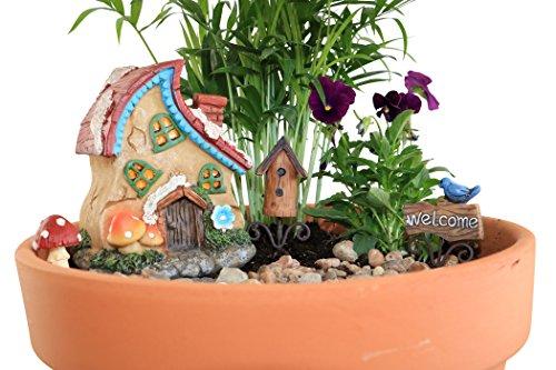 Fairy Go Round Fairy Garden Set - 5 Piece