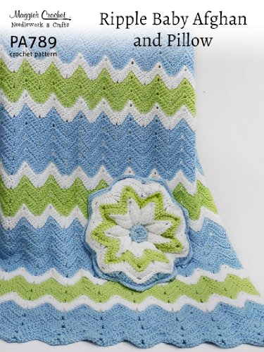Crochet Pattern Ripple Afghan Pa789 R Kindle Edition By Maggie