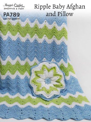 (Crochet Pattern Ripple Afghan PA789-R)