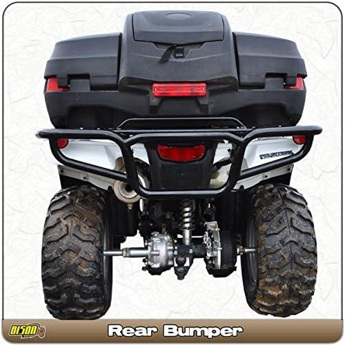 2014-18 Honda Rancher 420 /& Foreman TRX 500 Quad Rear ATV Bumper Brush Guard Hunter /& Trail By Bison 166-224H