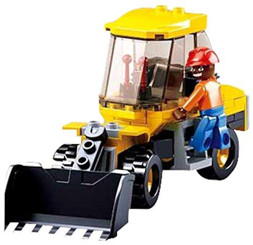 Sluban Small Streetroller  132Pcs  Building Block Crontsruction Toys for Kids M38 B0377 D