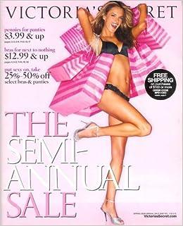 826d7bcb3457 Victoria's Secret Catalog - Semi-Annual Sale Spring 2008 - Volume 1:  Alessandra Ambrosio Cover! Single Issue Magazine – 2008