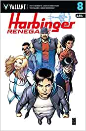 Harbinger Renegade, 8: Harbinger Renegade, número 8 Valiant - Harbinger Renegades: Amazon.es: Roberts, Rafer, Manso ...
