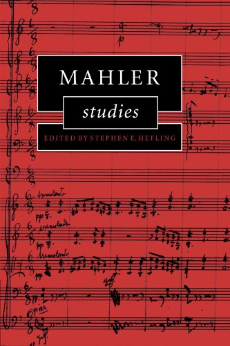 Mahler Studies (Cambridge Composer Studies) by Cambridge University Press
