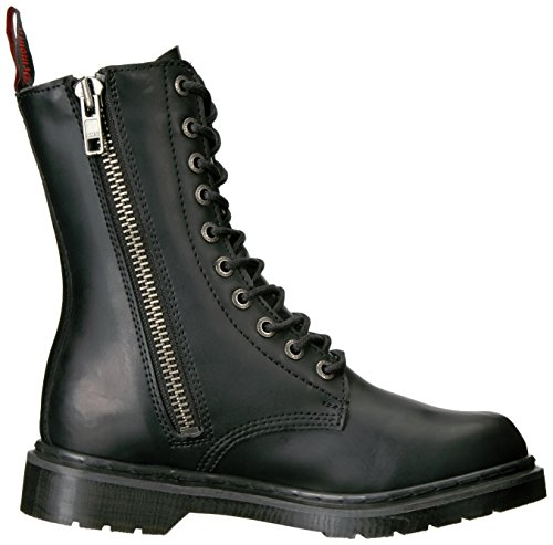 Demonia Hombres Def200 / B / Pu Bota Black Vegan Leather