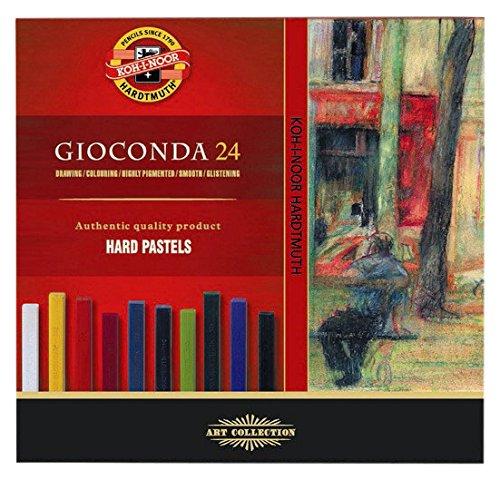 Koh-I-Noor Gioconda 8114 - Pastelli a olio duri, confezione da 24 8114024003KS