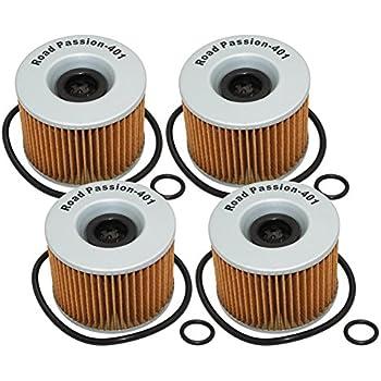 Road Passion High Performance Oil Filter for KAWASAKI KZ1100A 1981-1983//KZ1100B GPZ 1100 1981-1982//KZ1100D SPECTRE 1982-1983//KZ1100L LTD 1983
