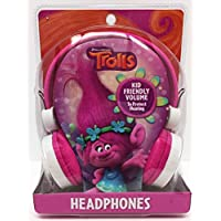 Dreamsworks Trolls Kid Friendly Pink Headphones