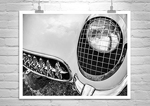 Corvette Picture, Vintage Corvette, Car Photography, Chevy - Corvette Pictures 1953