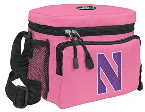 Broad Bay Northwestern Lunch Bag Womens & Girls NU Wildcats Lunchboxes (Wildcats Northwestern Lunch)