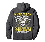 hvac tech bag - Unisex A Dying Breed Of My Craft | HVAC Tech Pullover Hoodie Gift Large Dark Heather