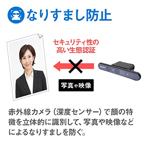 Mouse Computer USB Face recognition camera Windows Hello function compatible CM01 by COMPUTER MOUSE (Image #6)