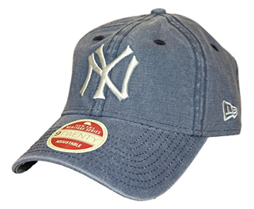 New Era New York Yankees MLB 9Twenty Cooperstown Classic Wash Adjustable Hat
