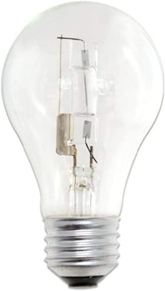 Bulbrite Halogen A1929A19CL/ECO Eco-Friendly Halogen 29W A19, Clear, 2-Pack
