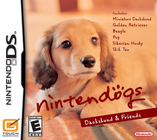 Nintendogs Dachshund & - Ds Nintendo For Dogs